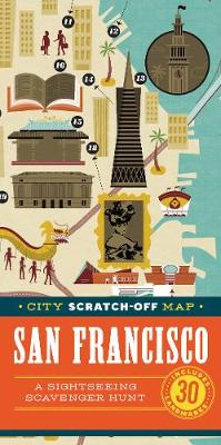City Scratch-Off Map: San Francisco av Christina Henry de Tessan (Eksperimentell innbinding)