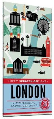 City Scratch-Off Map: London av Christina Henry de Tessan (Eksperimentell innbinding)