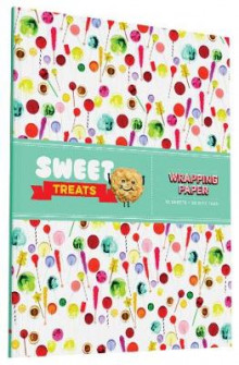 Sweet Treats Wrapping Paper av Chronicle Books (Andre trykte artikler)