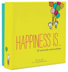 Happiness is... 20 Notecards and Envelopes av Lisa Swerling og Ralph Lazar (Undervisningskort)