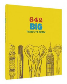642 Big Things to Draw av Chronicle Books (Minnebok)