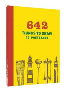 642 Things to Draw av Chronicle Books (Postkort)