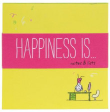 Happiness Is . . . Notes and Lists av Lisa Swerling (Notatblokk)