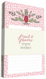 Omslag - Fruit & Flowers Notepads