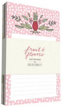 Fruit & Flowers Notepads (Undervisningskort)