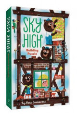 Omslag - Sky High Building Puzzle