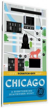 Omslag - City Scratch-Off Map: Chicago
