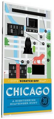 City Scratch-Off Map: Chicago av Christina Henry De Tessan (Kart, falset)