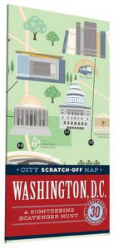 Omslag - City Scratch-Off Map: Washington, D.C.