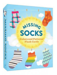 Missing Socks Colors and Patterns Flash Cards av Chronicle Books (Undervisningskort)