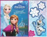 Omslag - Frozen Cookbook & Cookie Cutters Kit