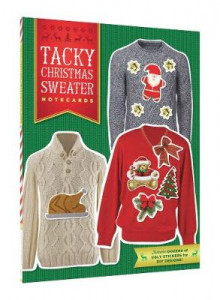 Tacky Christmas Sweater Notecards av Chronicle Books (Andre trykte artikler)