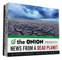 Daily Calendar 2017 av The Onion og Richard Benson (Kalender)