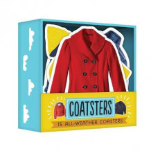 Coatsters: 15 All-Weather Coasters av Chronicle Books (Andre varer)
