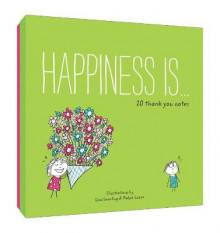 Happiness is . . . 20 Thank You Notes av Lisa Swerling og Ralph Lazar (Undervisningskort)