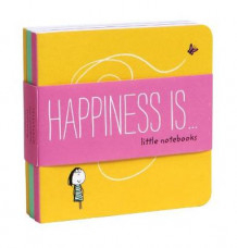 Happiness is . . . Little Notebooks av Lisa Swerling og Ralph Lazar (Notatblokk)