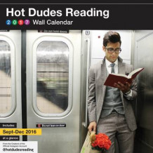 2017 Wall Calendar av Hot Dudes Reading (Kalender)