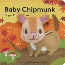 Baby Chipmunk: Finger Puppet Book av Chronicle Books (Eksperimentell innbinding)