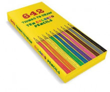 642 Things to Draw Colored Pencils av Chronicle Books (Eske)