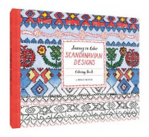 Journey in Color: Scandinavian Designs Coloring Book (Heftet)