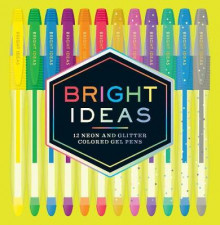 Bright Ideas Neon and Sparkle Gel Pens av Chronicle Books (Innbundet)