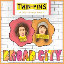 Broad City Twin Pins av Chronicle Books (Varer uspesifisert)