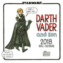 2018 Wall Calendar: Star Wars Darth Vader and Son av Jeffrey Brown (Kalender)