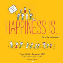 2017-2018 Family Wall Calendar: Happiness is . . av Lisa Swerling og Ralph Lazar (Kalender)