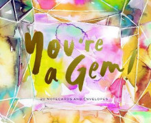 You're a Gem! av Chronicle Books (Undervisningskort)