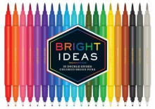 Bright Ideas: 20 Double-Ended Colored Brush Pens av Chronicle Books (Varer uspesifisert)