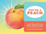 Omslag - You're a Peach: 8 Scratch and Sniff Notecards