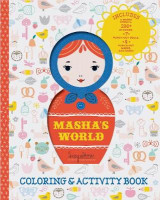 Omslag - Masha's World: Coloring & Activity Book