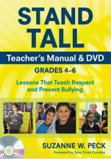 Omslag - STAND TALL Teacher's Manual & DVD, Grades 4-6