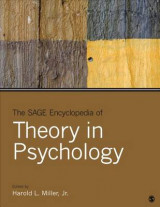 Omslag - The Sage Encyclopedia of Theory in Psychology