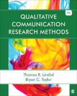 Omslag - Qualitative Communication Research Methods