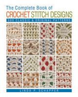Omslag - The Complete Book of Crochet Stitch Designs