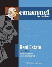 Emanuel Law Outlines for Real Estate av Robin Paul Malloy (Heftet)