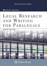 Omslag - Legal Research and Writing for Paralegals
