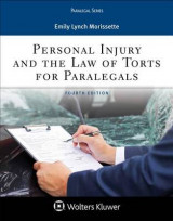 Omslag - Personal Injury and the Law of Torts for Paralegals