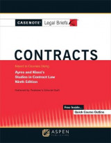 Omslag - Casenote Legal Briefs for Contracts Keyed to Ayres and Klass