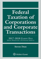 Omslag - Federal Taxation of Corporations and Corporate Transactions