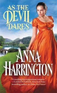 As the Devil Dares av Anna Harrington (Heftet)