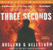 Three Seconds av Anders Roslund og Borge Hellstrom (Lydbok-CD)