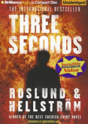 Three Seconds av Borge Hellstrom og Anders Roslund (Lydbok-CD)