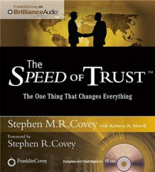 The Speed of Trust av Stephen M. R. Covey (Lydbok-CD)