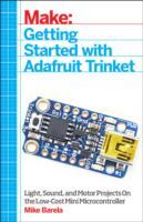 Getting Started with Adafruit Trinket av Mike Barela (Heftet)
