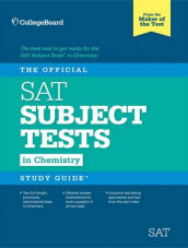 The Official SAT Subject Test in Chemistry Study Guide av The College Board (Heftet)