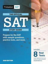 Omslag - The Official SAT Study Guide, 2020 Edition