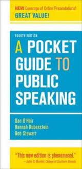 Omslag - A Pocket Guide to Public Speaking