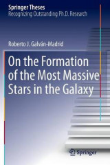 Omslag - On the Formation of the Most Massive Stars in the Galaxy